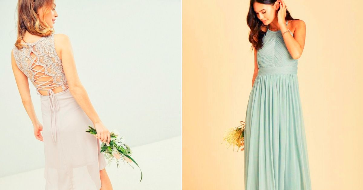 f2a62c8457cf Under  100  Top 25 Bridesmaid Dresses That We Can Order Online