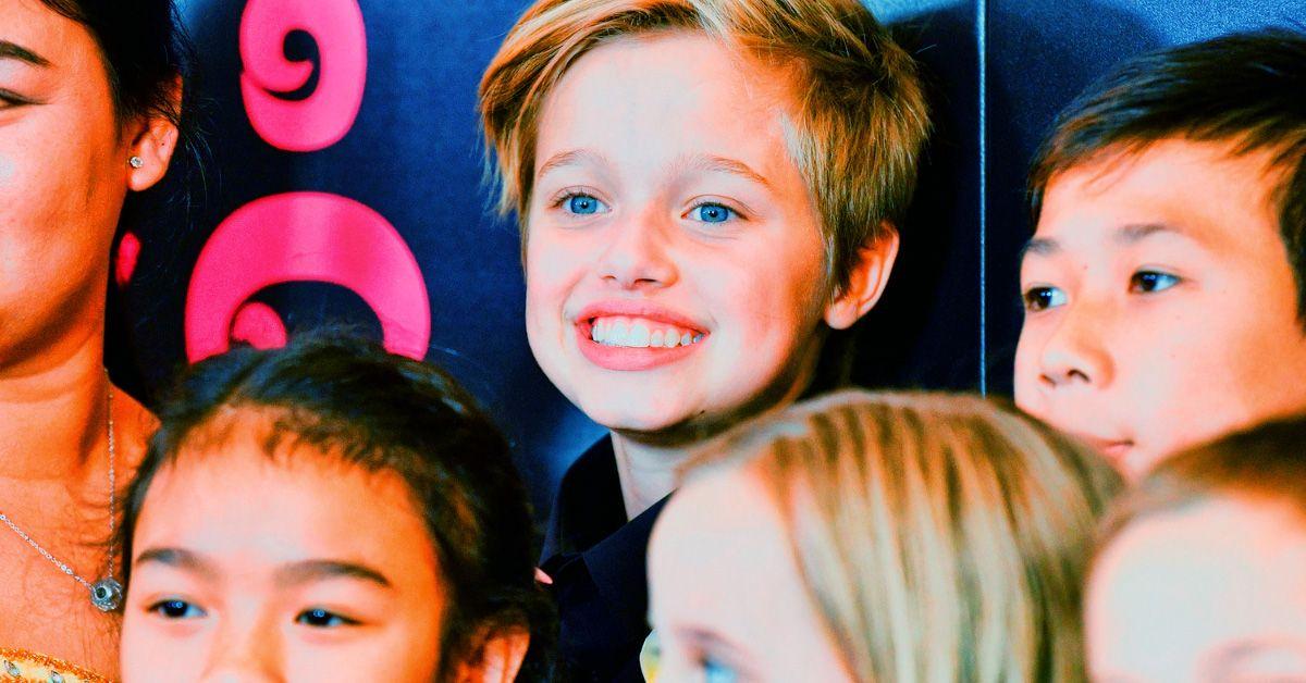 Angelina Jolie Childhood Shiloh